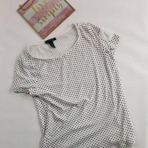 Lauren by Ralph Lauren Polka Dot T Shirt
